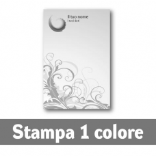 250 Carte Intestate stampa 1 colore nero