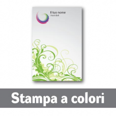 100 Carte Intestate stampa a colori