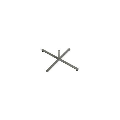 Base metallica a X porta bandiera