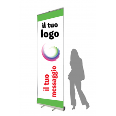 Espositore Roll Up 100x300 cm
