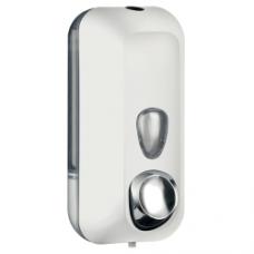 Dispenser per Igienizzante mani 0,55 LT Soft Touch bianco