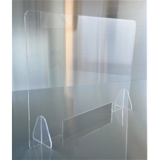 Barriere divisorie para fiato in Plexiglas mis. 95 x 65 H cm