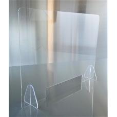 Barriere divisorie para fiato in Plexiglas mis. 95 x 95 H cm