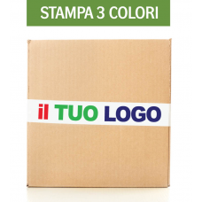 720 pz Nastro Adesivo personalizzato 3 colori